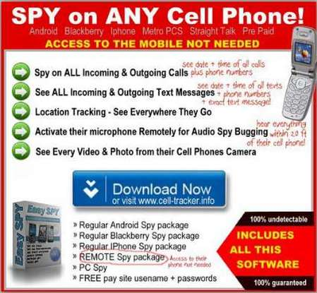We offer the world's most powerful spying app for BlackBerry devices